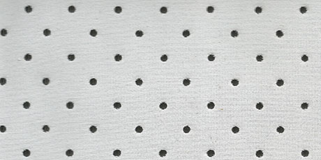 Visible Perforated Neoprene Fabric